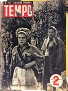 TEMPO EDIZIONE ITALIANA MILITARY   MILITARIA WWII.  1942.  No.. 178 - Books, Magazines, Comics