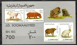 SOMALIA - 1989 - WILDLIFE - SOUVENIR SHEET - NUOVI MNH - Somalia (1960-...)
