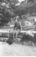 LOT DE 2 PHOTOS - 57 - FORBACH  EN  1945 - Places