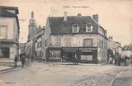 """¤¤  -   LIMAY    -   Place Du Temple   -  Café Du Temple """" PELLIER """"    -  ¤¤ - Limay"""