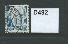 Germany French Occupation Of Wurttemberg 1948 Currency Reform 50pf - Zone Française