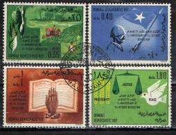 SOMALIA - 1970 - 1° ANNIVERSARIO DELLA RIVOLUZIONE DEL 21 OTTOBRE - USATI - Somalia (1960-...)