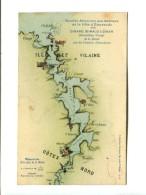 CARTE D HORAIRES AOUT 1911 _ DINARD  (35) SERVICE DE LA RANCE VEDETTES DINARDAISES - Dinard