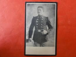 Doodsprentje WW1, WO1, Jan Gysemans, Geboren Booischot 1887, Gesneuveld Te Queue-du-Bois 1914 - Images Religieuses