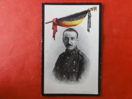 Doodsprentje WW1, WO1, Gaston De Vel, Geboren Merksplas 1892, Gesneuveld Houthulst (bos) 1918 - Images Religieuses