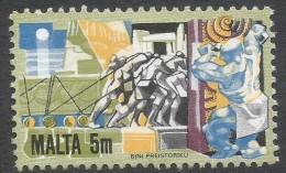 Malta. 1981 History Of Maltese Industry. 5m Used. SG 667 - Malta