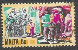 Malta. 1981 History Of Maltese Industry. 5c Used. SG 671 - Malta