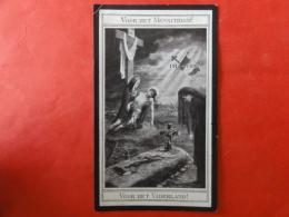 Doodsprentje WW1, WO1, Livinus Vercammen, Geboren Nijlen 1883, Gesneuveld Nieuwpoort 1914 - Images Religieuses