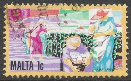 Malta. 1981 History Of Maltese Industry. 1c Used. SG 668 - Malta