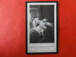 Doodsprentje WW1, WO1, Franciscus Vekemans, Geboren Nijlen 1886, Gesneuveld Zuidschote (Ieper) 1915 - Images Religieuses