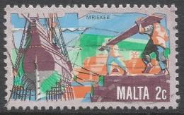 Malta. 1981 History Of Maltese Industry. 2c Used. SG 669 - Malta
