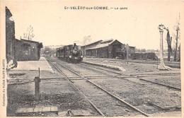 80-SAINT-VALERY-SUR-SOMME- LA GARE - Saint Valery Sur Somme