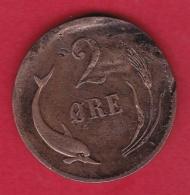 Danemark - 2 öre 1875 - Dinamarca