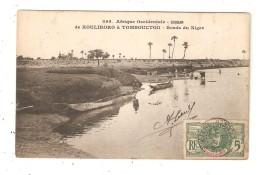 CPA SOUDAN De KOULIKORO à  TOMBOUCTOU  Bords Du Niger 1908 - Mali