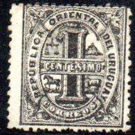 T897 - URUGUAY  , Yvert N. 34 Usato  . - Uruguay