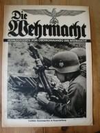 Die Wehrmacht, 2. Jahrgang, Nr. 13, Erste Juli Ausgabe 1938, Leichter Granatwerfer In Feuerstellung - Revues & Journaux