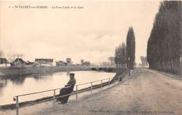 80-SAINT-VALERY-SUR-SOMME- LE PONT-LEVIS ET LA GARE - Saint Valery Sur Somme
