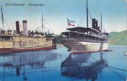 "Croatia - Hrvatska - Steamer ""Karagjordje"" Jadranska Plovidba , Sušak 1930 - Dampfer"