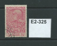 Austria 1914 War Charity Funds. 10h + 2h - 1905 Grosse Barbe