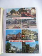 TRAMWAY De SAINT ETIENNE : LOT De 163 CPM - Détails Sur Les Scans - Tramways
