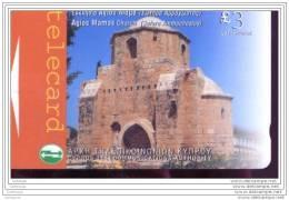 EF3350     CARTE DE  CHYPRE - Chypre