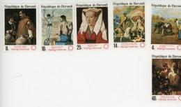 Burundi 1967-Picasso-Miller-Van Eyck-Rembrandt-Expo 67-Montreal-YT246/51 Dentelé ***MNH