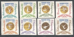 ROMANIA - MNH - Sport - Olympic Games - Tokio 1964 - Imperf. - Stamps