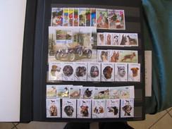 Collection Thematique En Series Completes Obliterees Et Aussi Des Blocs Et Feuillets(CLA) - Stamps