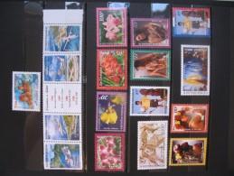 Océanie  1998   Timbres   N°555 à 577 + BF 23    Neuf **  Très Bon état   Côte   94.90  € - Oceania (1892-1958)