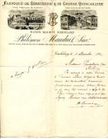 61.ORNE.TINCHEBRAY.FABRIQUE DE SERRURERIE & DE GROSSE QUINCAILLERIE.PHILEMON MAUDUIT. - France