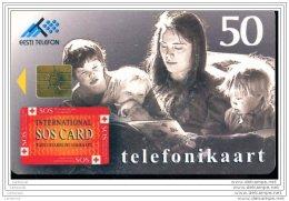 EF4220  CARTE  ESTONIE - Estonie