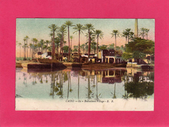 EGYPTE, CAIRO, Bedresheen Village, Le Caire Village De Bedrechine, 1917, (B. B.) - Cairo