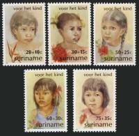 Surinam 1981 Child Welfare Children Of Different Races Stamps MNH SC B284-B288 Michel 962-966 - Surinam