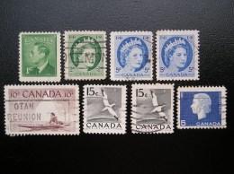 Lot Canada  236-270-271-278-288-332