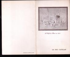 1962, MENU , LE PRE CATELAN - Menus