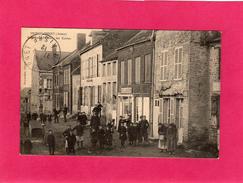 Rare, 02 Aisne, MONTCORNET, Rue St-Martin, Les Ecoles, Animée, (Reycoudier) - Andere Gemeenten