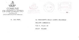 COMUNE DI OSPITALETTO BRESCIA - Marcofilie - EMA (Print Machine)