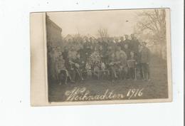 WEIHNACHTEN  (MILITAIRES A NOEL  CARTE PHOTO) 1916 - Weltkrieg 1914-18