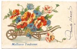 CP - Fantaisie Fantasie - Fleurs - Bloemen In Kruiwagen - 1907 - Blumen