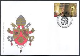 2011 - CROAZIA / CROATIA - VISITA DEL PAPA / THE VISIT OF POPE. FDC - Croatia