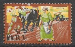 Malta. 1981 History Of Maltese Industry. 7c Used. SG 673 - Malta