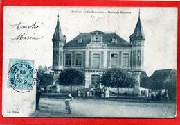 CPA - D77 - ENVIRONS  DE  COULOMMIERS - ( S.et.M ) - OBLITERE 1905 -  MAIRIE  DE  MOUROUX - - Coulommiers
