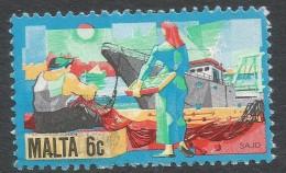 Malta. 1981 History Of Maltese Industry. 6c Used. SG 672 - Malta