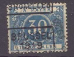 België/Belgique  Strafport/taxe  N°TX 15A  Bruxelles 1919 Brussel. - Taxes