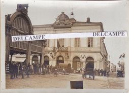 CASTELSARAZIN 1913 - Photo Originale De La Mairie, Le Quartier Général Du Gal Joffre ( Tarn Et Garonne ) - Lieux
