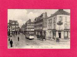 62 PAS DE CALAIS, CALAIS, Place Richelieu, Animée, Café Léon, 1915, (L. L.) - Calais