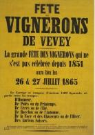 Collection Complète Des Affiches Fête Des Vignerons Depuis 1851 à 1999. Ed. 24 Heures - VD Vaud