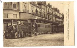 """CPA DIJON: """" Tramways Départementaux De La Cote D'Or...Procédé FALCK.."""" - Dijon"""