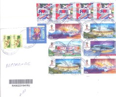 2016. Russia, The Letter Sent By Registered Air-mail Post To Moldova