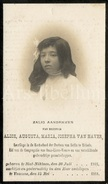 Doodsprentje / Avis De Décès / Alice Augusta Van Haver / Sint-Niklaas / 1918 / 2 Scans - Images Religieuses